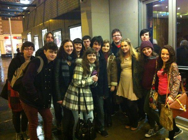 Young Critics 2013 arrive for King Lear at The Abbey Theatre