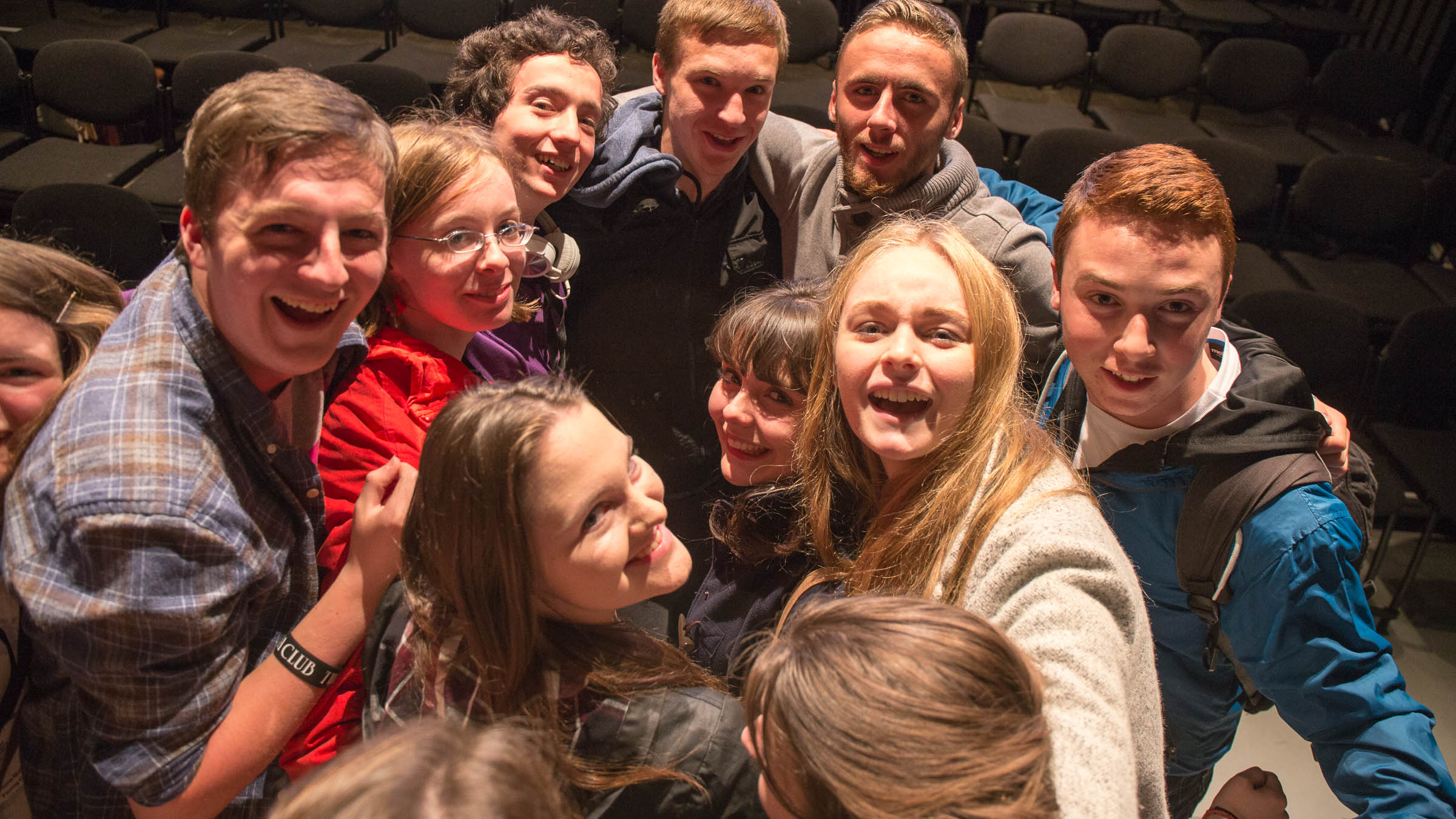 The Young Critics say goodbye for another year  Photo credit: Allen Kiely